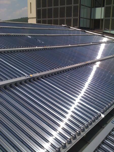 Thermische Solaranlage Bad Brueckenau